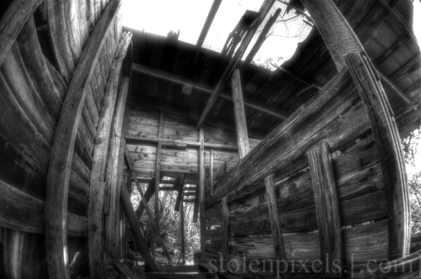 Sony a65 -- 35mm Lens w/.20x Fisheye -- Three Images -- HDR in Photomatix Pro